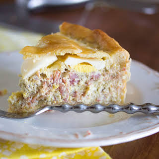 Easter Pie (pizza Rustica).