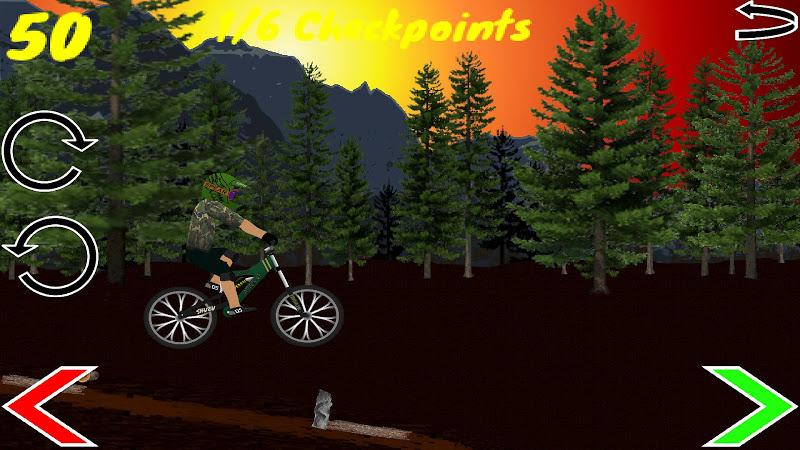 Скриншот Edge of Disaster Downhill MTB