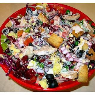 Cabbage & Kidney Bean Salad.