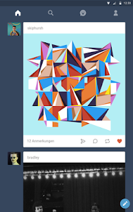 Tumblr – Miniaturansicht des Screenshots
