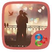 Sweet love  GO Launcher Theme