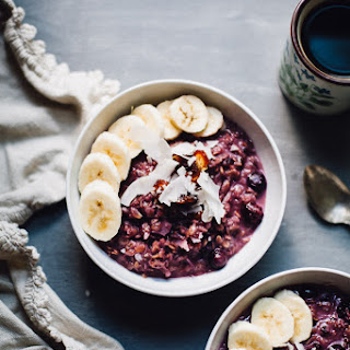 Toasted Berry Coconut Oatmeal
