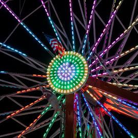 Ferris wheel by Tiffany Matt - City,  Street & Park  Amusement Parks
