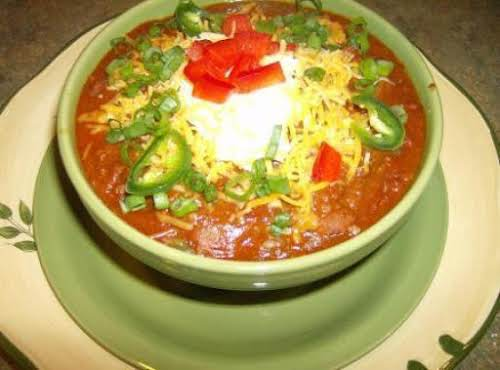 "Rose Mary's Chili Con Carne ""My best friend would drive 35 miles to..."