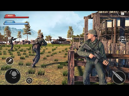 WW2 US Army Commando Survival Battlegrounds Screenshot