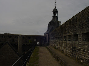 Photo: A final look down the ramparts.