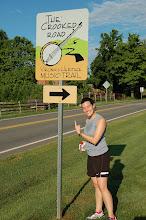 "Photo: Amanda says ""check it out I just ran my first Crooked Road 10 Miler"""