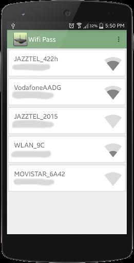 無線網絡密碼