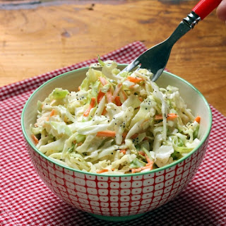 Sweet And Easy Cole Slaw.