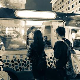 Ice cream truck by Rebecca Pollard - Food & Drink Eating (  )