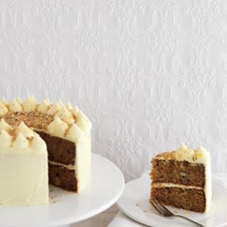 Carrot Cake with Cream Cheese Icing & Praline