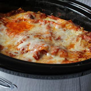 Crockpot Lasagna.