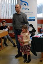 Photo: Najmłodsza uczestniczka turnieju Dalia Ratkuń
