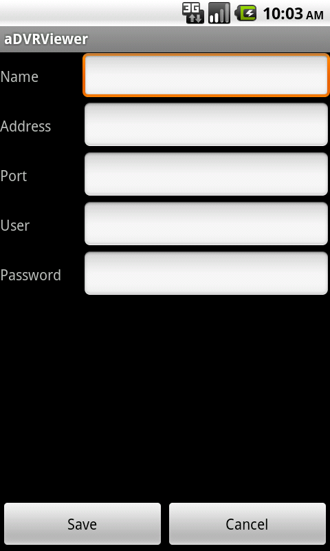 Скриншот aDVRViewer