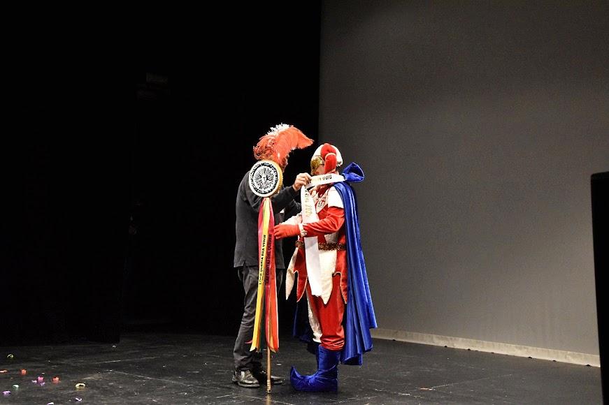 1ª semifinal del Concurso de Agrupaciones de Carnaval de Almería en el Teatro Apolo.