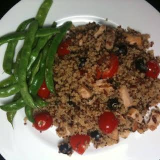 Mediterranean Chicken Quinoa.