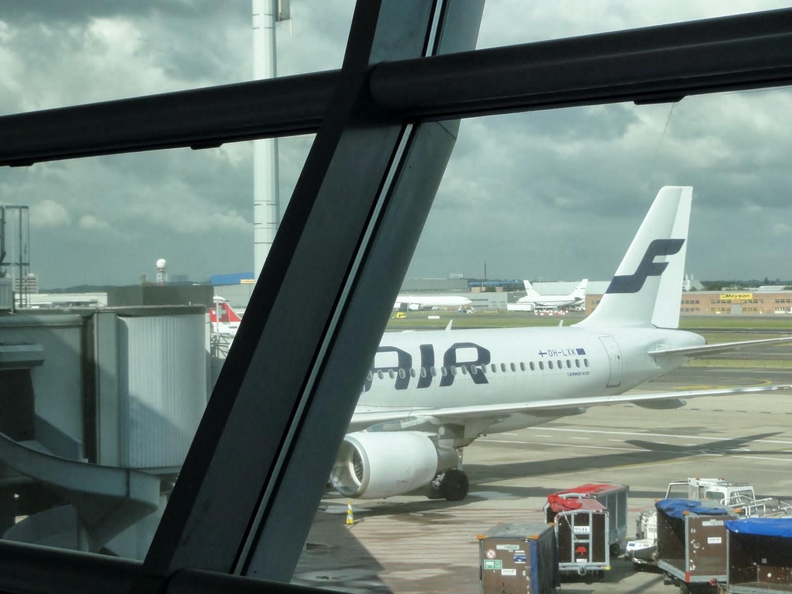 Photo: Finnair zal ons naar China brengen.