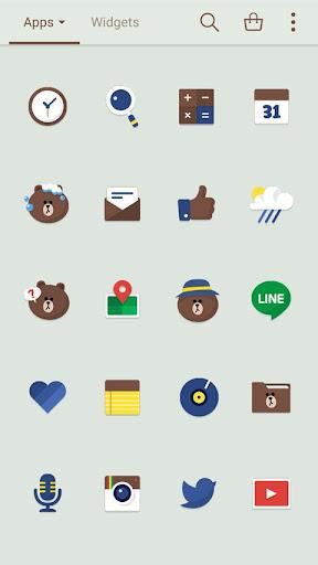玩個人化App|Brown special LINEランチャーテーマ免費|APP試玩