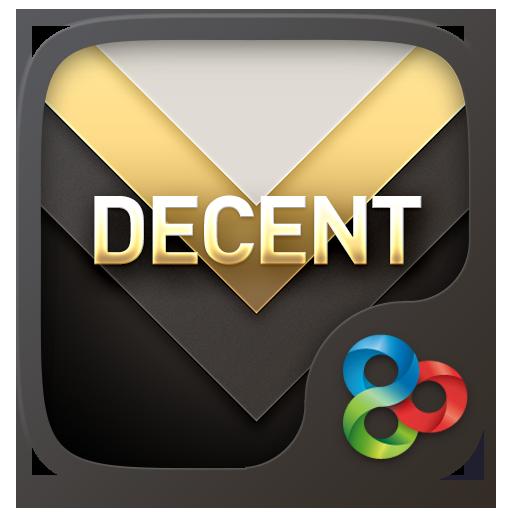 Decent GO Launcher Theme