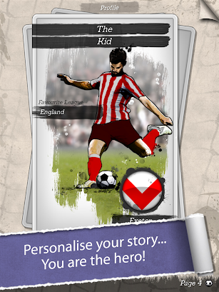New Star Soccer G-Story (Chapters 1 to 3) screenshot for Android