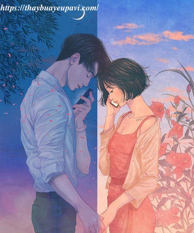 cách giữ tình yêu khi ở xa nhau