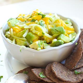 Mango & Avocado Ceviche.