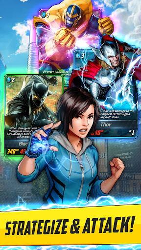 MARVEL Battle Lines 2.1.0 screenshots 3