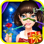 Christmas Princess Party Icon