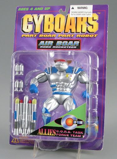 Action figure:Cyboars | Air Boar, Robo Rocketeer