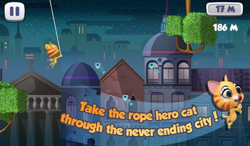 Rope Hero Cat screenshot 6