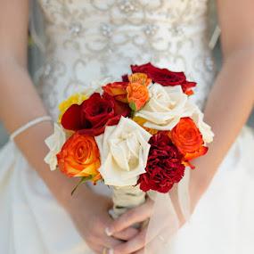 photos by Onsite Minnesota Photography, visit http://www.onsitemn.com by Devyn Drufke - Wedding Details ( wedding, flowers, the vinery, saint john the baptist catholic church )