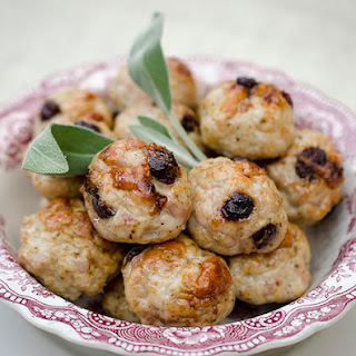 Turkey & Cranberry Meatballs