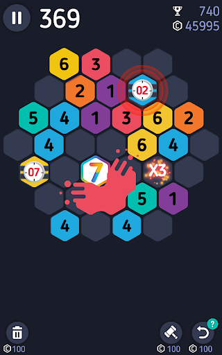 Make7! Hexa Puzzle screenshot 4