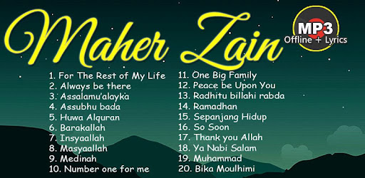 ISLAMIC MAHER ZAIN offline sholawat song - Apps on Google Play