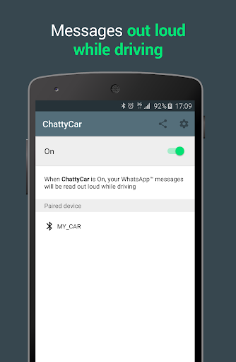ChattyCar. Reader for WhatsApp 1.2.8 - beta screenshots 2