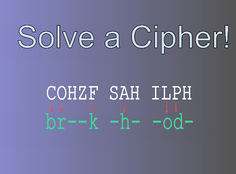 Solve a Cipher!