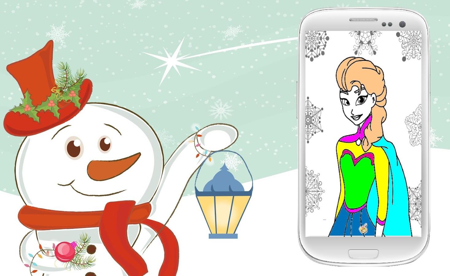 frozen coloring book screenshot - Frozen Coloring Book