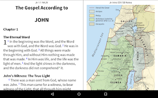 Screenshot of NKJV Bible+ by Olive Tree