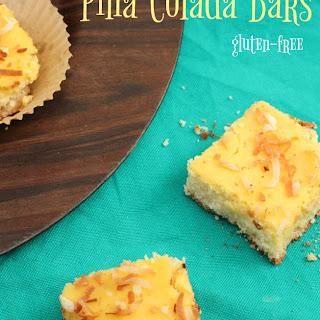 Gluten Free, Dairy Free Piña Colada Bars.