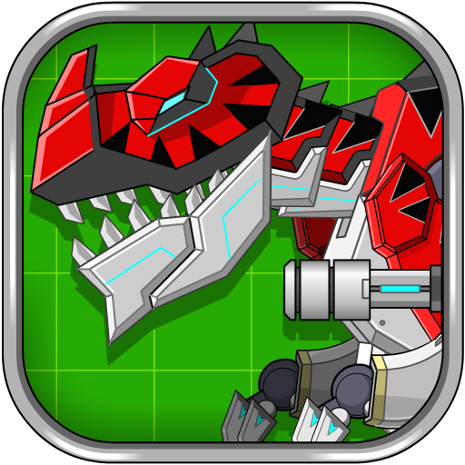 Red T-Rex Robot Dinosaur Android APK Download Free By Joy4touch