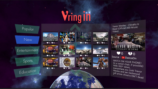 VRing In - VR Video Player