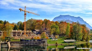 Photo: und was wird hier neben dem ehemaligen gasthof marienbrücke gebaut?