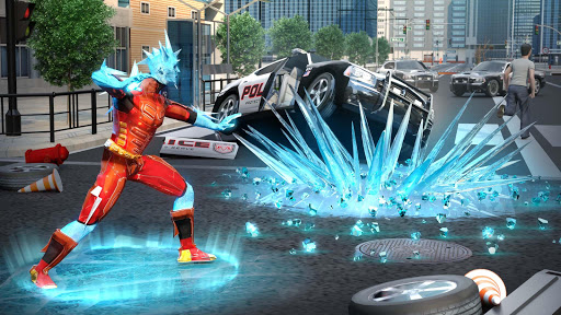 Snow Storm Superhero apktram screenshots 17