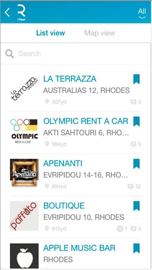 Rhodes iTour Travel Guide - screenshot