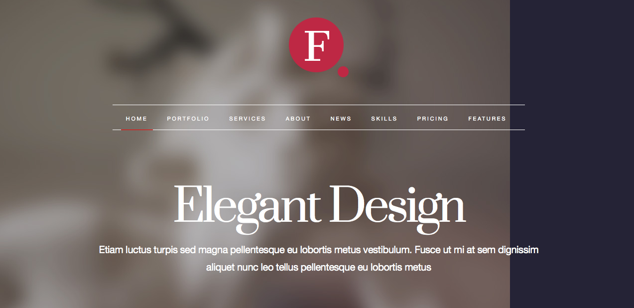Finale Element WordPress Theme