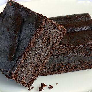 High Protein Fudgy Brownies (yep, sugar free too!)