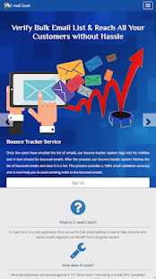 E-Mail Court – Validate Email Bulk Checker Tool for PC-Windows 7,8,10 and Mac apk screenshot 2