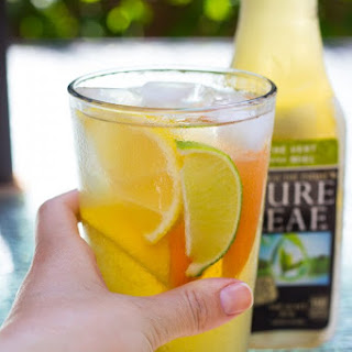 Easy, Citrusy Iced Green Tea Cocktails.