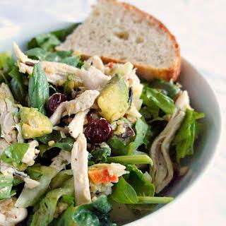 A Hearty, Savory Dinner Salad.