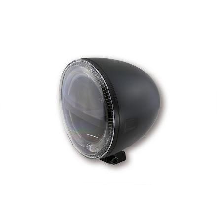 HIGHSIDER 5 3/4 inch LED Headlight CIRCLE, black
